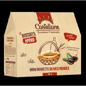 Mini Navettes aux Olives...